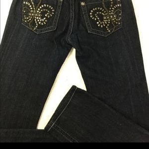 Miss Me Jeans Size 30/34 Boot Cut Mid
